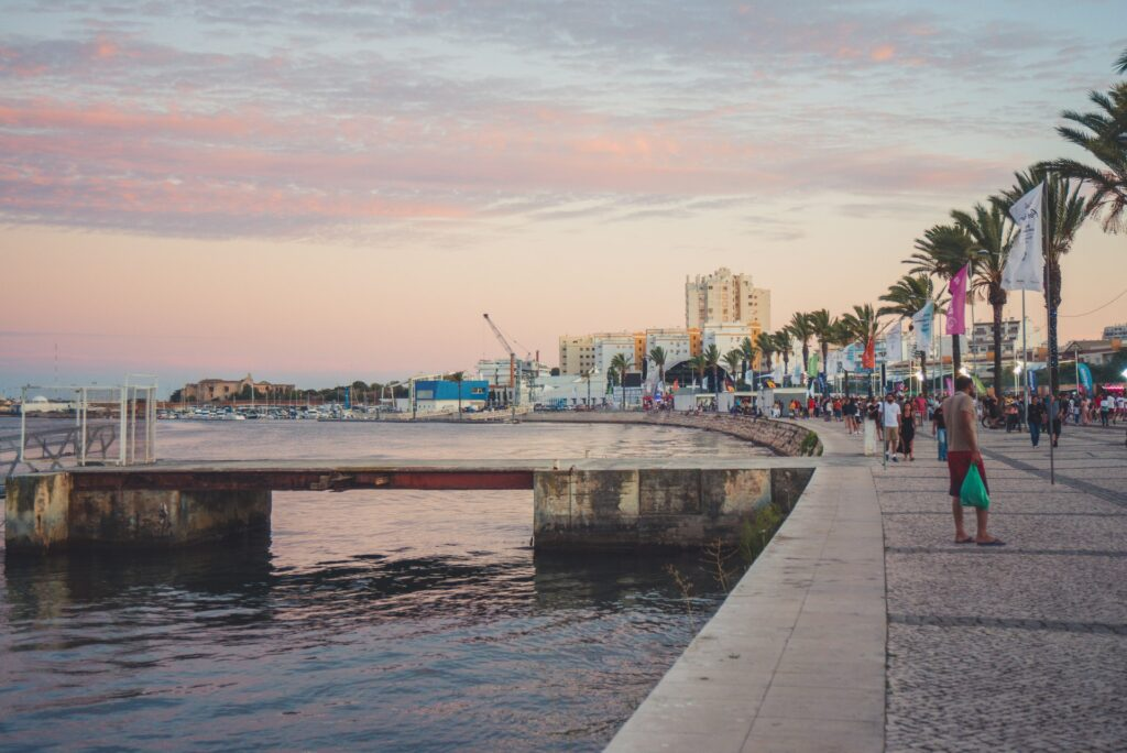 The port at Portimao, host of the Portugal F1 Grand Prix