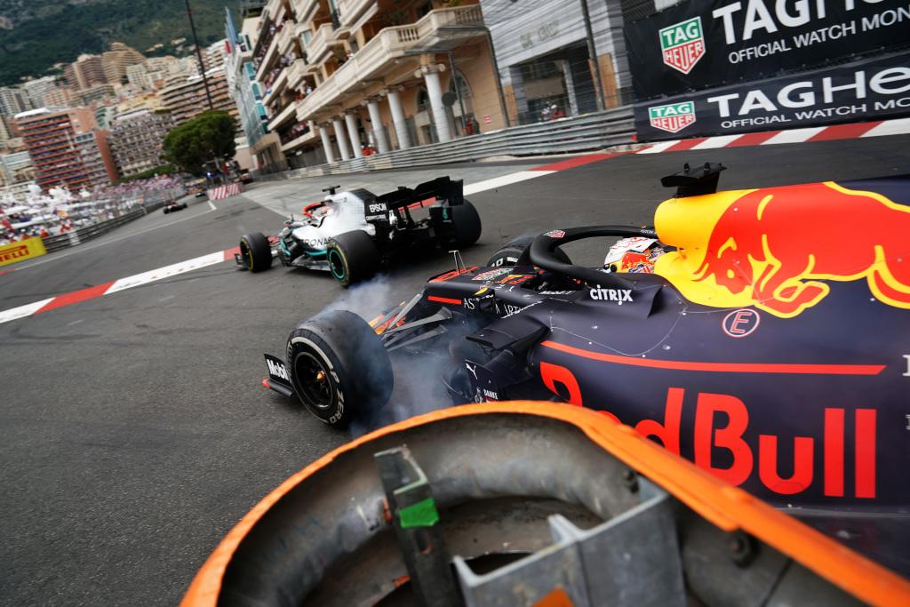 Formula 1 cars at the Monaco F1 Grand Prix