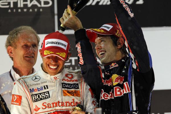 Lewis Hamilton and Sebastian Vettel