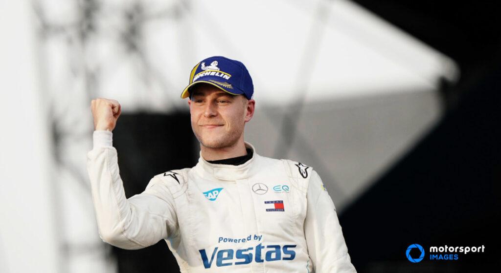 Formula E driver Stoffel Vandoorne