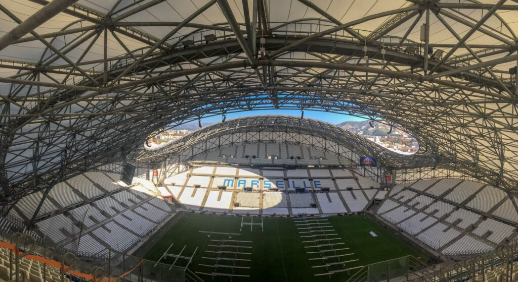 Stade Velodrome in Marseille