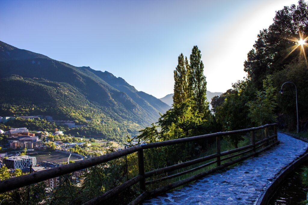 A landscape of Andorra