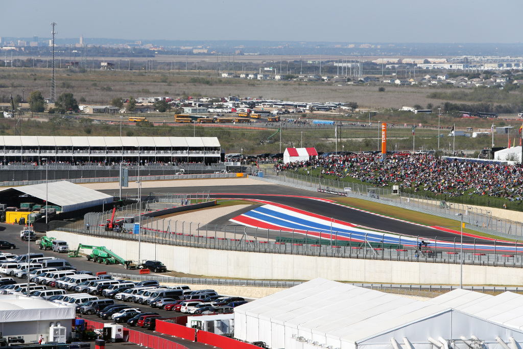 A panoramic view of the United States Grand Prix