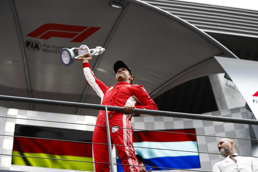 F1 World Champion Sebastian Vettel