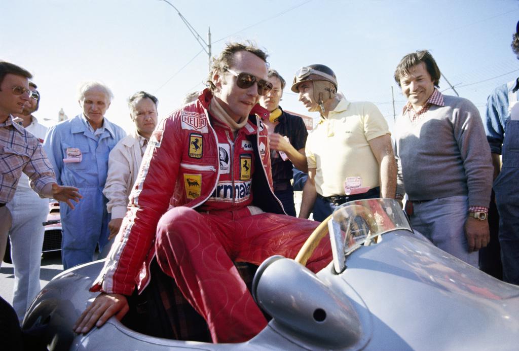 F1 driver Niki Lauda