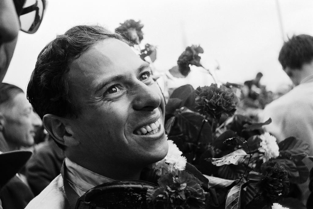 F1 driver Jim Clark
