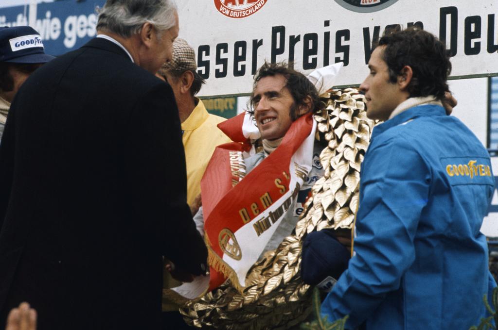 F1 World Champion Jackie Stewart