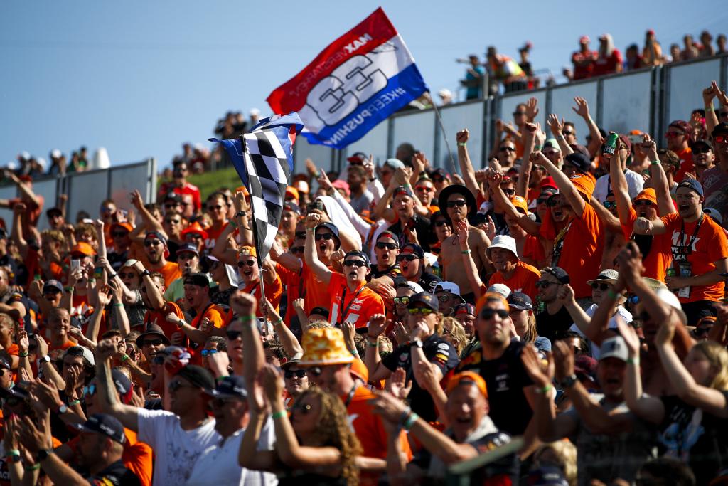 Dutch Formula 1 fans