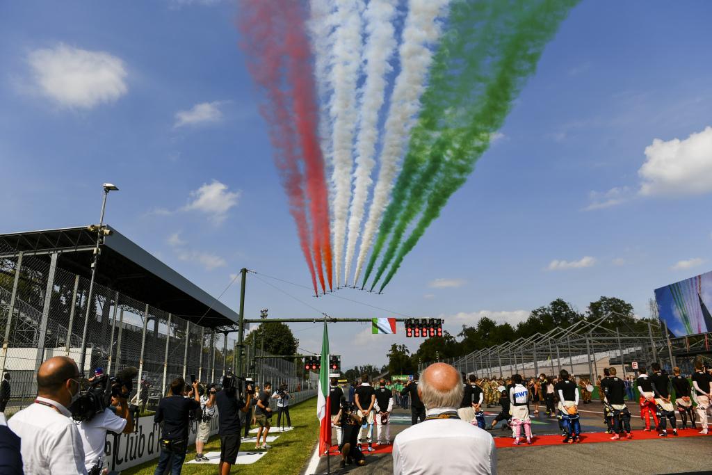 Flyover at the Italian Grand Prix
