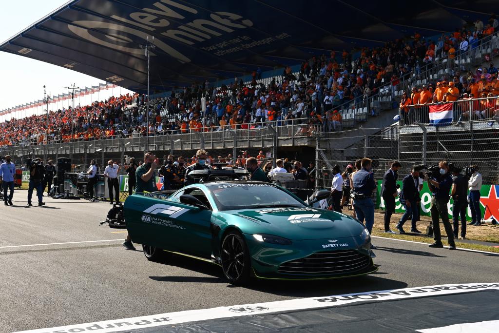 The Pit grandstand before the Dutch Grand Prix